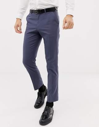 Asos Design DESIGN slim suit pants in slate blue