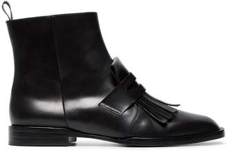 Clergerie Black Tassel 25 Leather Boots