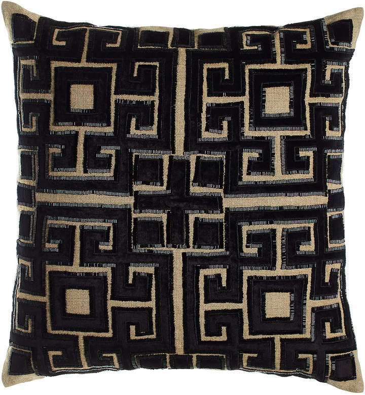 "Callisto Callisto Home 22""Sq. Beaded Doron Pillow"