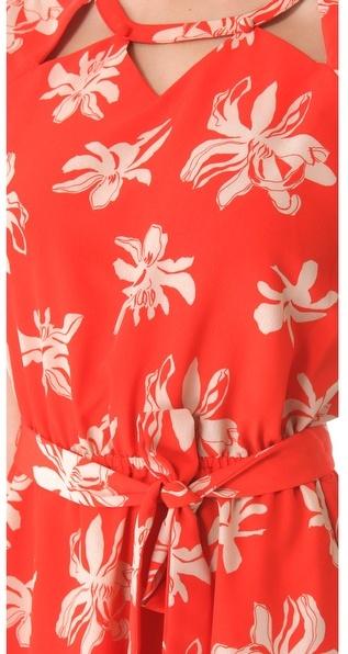 Viva Vena Viva vena! by vena cava Chamberlan Front Tie Dress