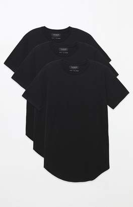 PacSun Three Pack All Day Scallop T-Shirts