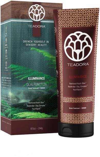 Teadora Brazilian Glow TM Revitalizing Sugar Scrub & Clay Masque
