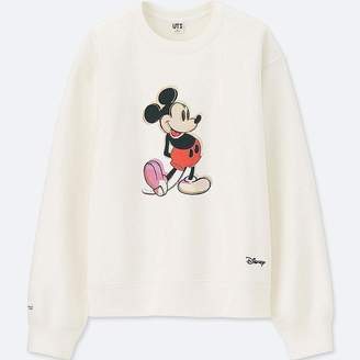 Uniqlo Women's Mickey Art Long-sleeve Sweatshirt (andy Warhol)