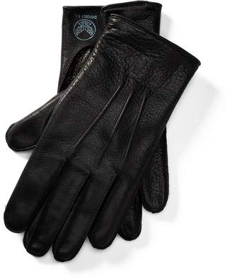 Ralph Lauren Cashmere-Lined Leather Gloves