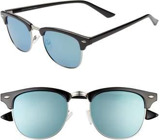 d5767a6238f 1901 Black Men's Sunglasses - ShopStyle