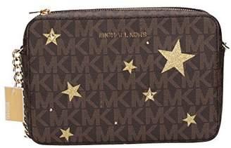 MICHAEL Michael Kors Illustration Women's Jet Set Travel Xbody Leather Bag Clutch Wallet