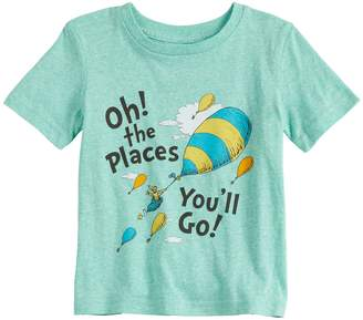 "Dr. Seuss Toddler Boy Jumping Beans Oh! The Places You'll Go"" Graphic Tee"