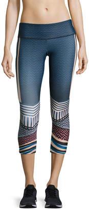 Onzie Graphic Capri Athletic Leggings