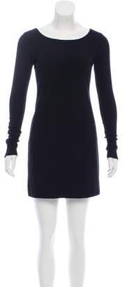 Theory Long Sleeve Bodycon Dress
