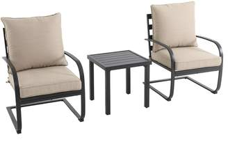 Sonoma Goods For Life SONOMA Goods for Life Burbank C-Spring Patio Chair & End Table 3-piece Set