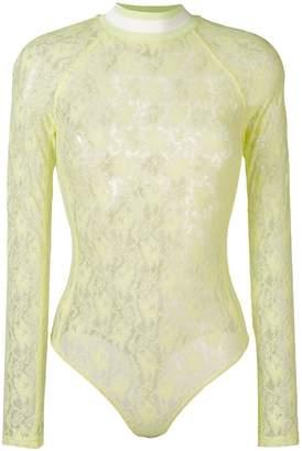 Alexander Wang lace bodysuit