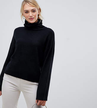 Asos Tall DESIGN Tall oversized slouchy roll neck sweater