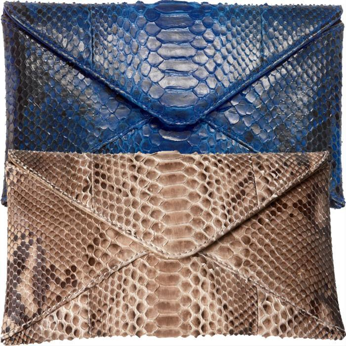 Python  Envelope Clutch by Michael Kors