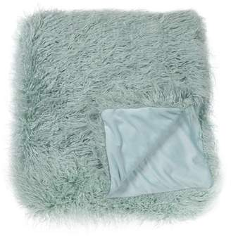 """Nordstrom Rack Solid Curly Flokati Faux Fur Throw - 50\""""x60\"""""""
