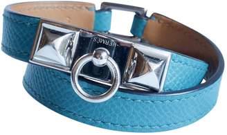 Hermes Rivale leather bracelet