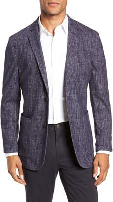 Vince Camuto Mesh Pattern Slim Fit Sport Coat