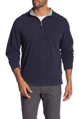 Brooks Brothers Brushed Jersey Half-Zip Pullover