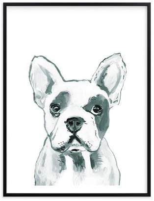 Pottery Barn Teen Hey Mr. Dog, Wall Art by Minted, 8&quotx10&quot, Black