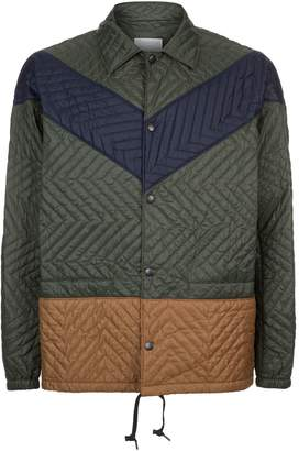 Kolor Quilted Chevron Jacket