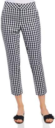 Foxcroft Gingham Ankle Pants