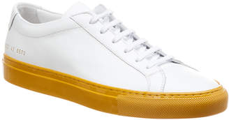 Common Projects Achilles Low Colored Sole Leather Sneaker