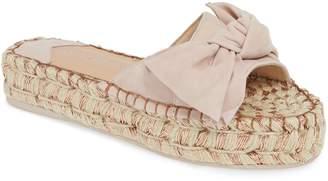 J/Slides Ritsy Espadrille Slide Sandal