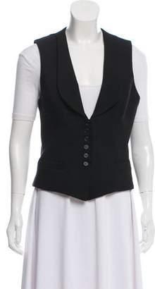 Smythe Wool-Blend Button-Up Vest