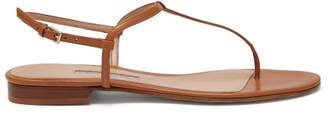 Emme Parsons Cecilia Nappa Leather Sandals - Womens - Tan