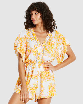 Seafolly Sunflower Floral Playsuit