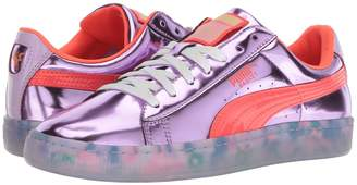Puma x Sophia Webster Basket Candy Princess Sneaker Women's Lace up casual Shoes