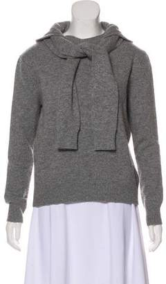 Band Of Outsiders Hooded Wool Sweater
