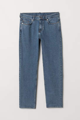 H&M Straight Selvedge Jeans