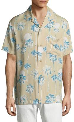 Wesc Men's Nevin Hawaii Sportshirt