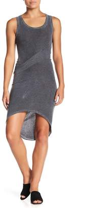 American Twist Twisted Asymmetrical Hem Dress