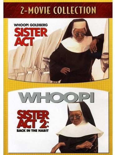 """TOUCHSTONE / DISNEY """"Sister Act and Sister Act 2: Back In The Habit"""" 2-Disc DVD Set"""