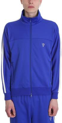 South2 West8 Blue Polyester Sweatshirt