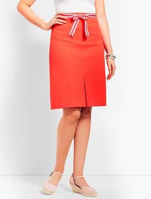 Talbots Ribbon-Tie Skirt