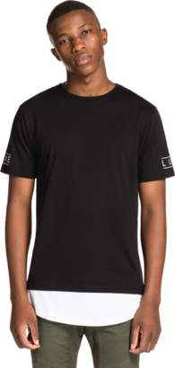 yd. BLACK SCOOP STREET TEE