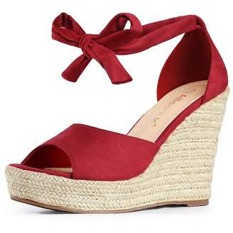 1b1bad5bd74 Ankle Strap Wedge Shoes Red - ShopStyle Canada