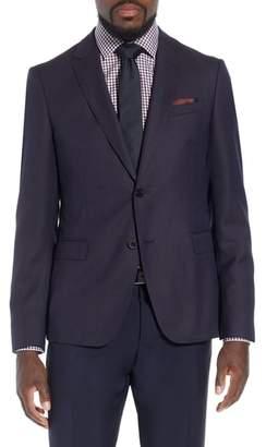 BOSS x Nordstrom Nobis Trim Fit Wool Blazer