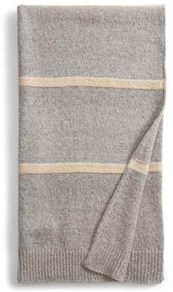 Treasure & Bond Wide Stripe Knit Throw Blanket