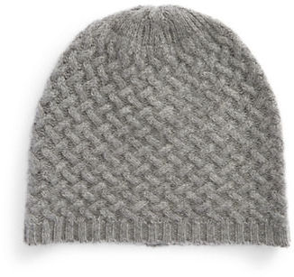 Lord & Taylor Cashmere Knit Beanie $75 thestylecure.com