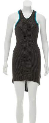 Alexander Wang Sleeveless Rib Knit Dress