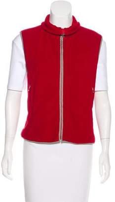 Prada Sport Zip-Up Fleece Vest