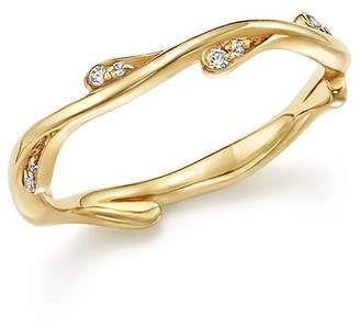 Bloomingdale's Diamond Stacking Ring in 14K Yellow Gold, .10 ct. t.w. - 100% Exclusive