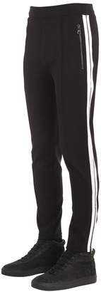Neil Barrett Stretch Nylon Pants W/ Side Bands