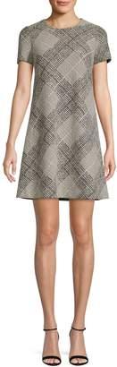 Calvin Klein A-Line Ponte T-Shirt Dress