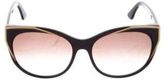 Thierry Lasry Polygamy 101 Gradient Sunglasses