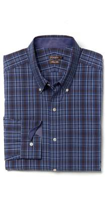 J.Mclaughlin Westend Trim Fit Shirt in Plaid