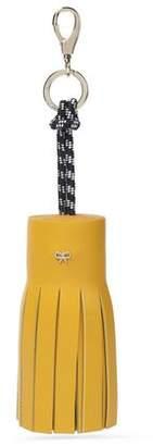 Anya Hindmarch Leather Tassel Keychain